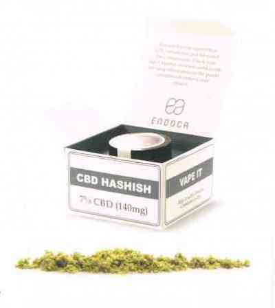 CBD Hashish 7% > Endoca