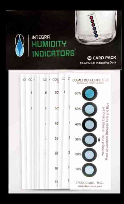 HUMIDITY INDICATOR CARD (10-60% R.H.) > Integra Products