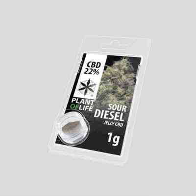 CBD JELLY 22% SOUR DIESEL > Plant Of Life