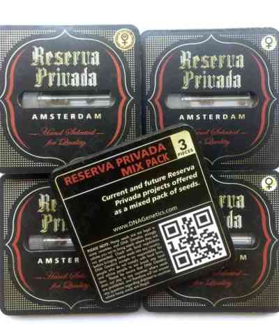 DNA/Reserva Privada Mix Pack Samen > DNA Genetics