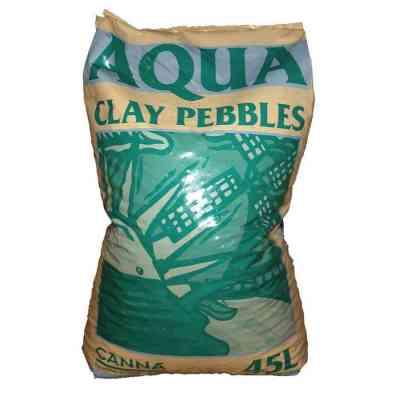 Aqua Clay Pebbles 8 X 16 45 L > Canna
