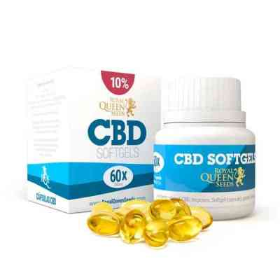 CBD Oil Capsules 10% > Royal Queen Products