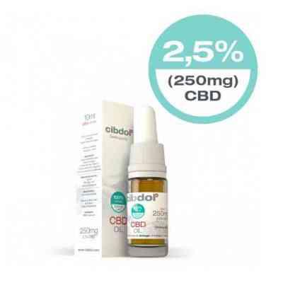 Aceite de CBD Suave 2.5% > Cibdol