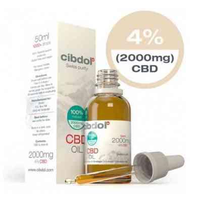 Aceite de CBD Media 4% CBD > Cibdol