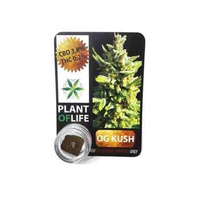 CBD Hash 3.8% OG Kush > Plant of Life