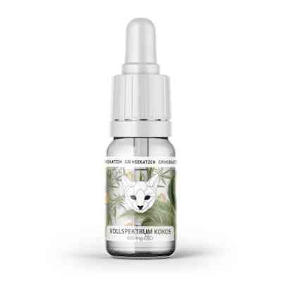 CBD coconut Oil full spectrum 400mg > Grinsekatzen